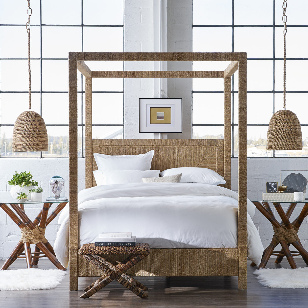 Woodside Canopy Bed 2