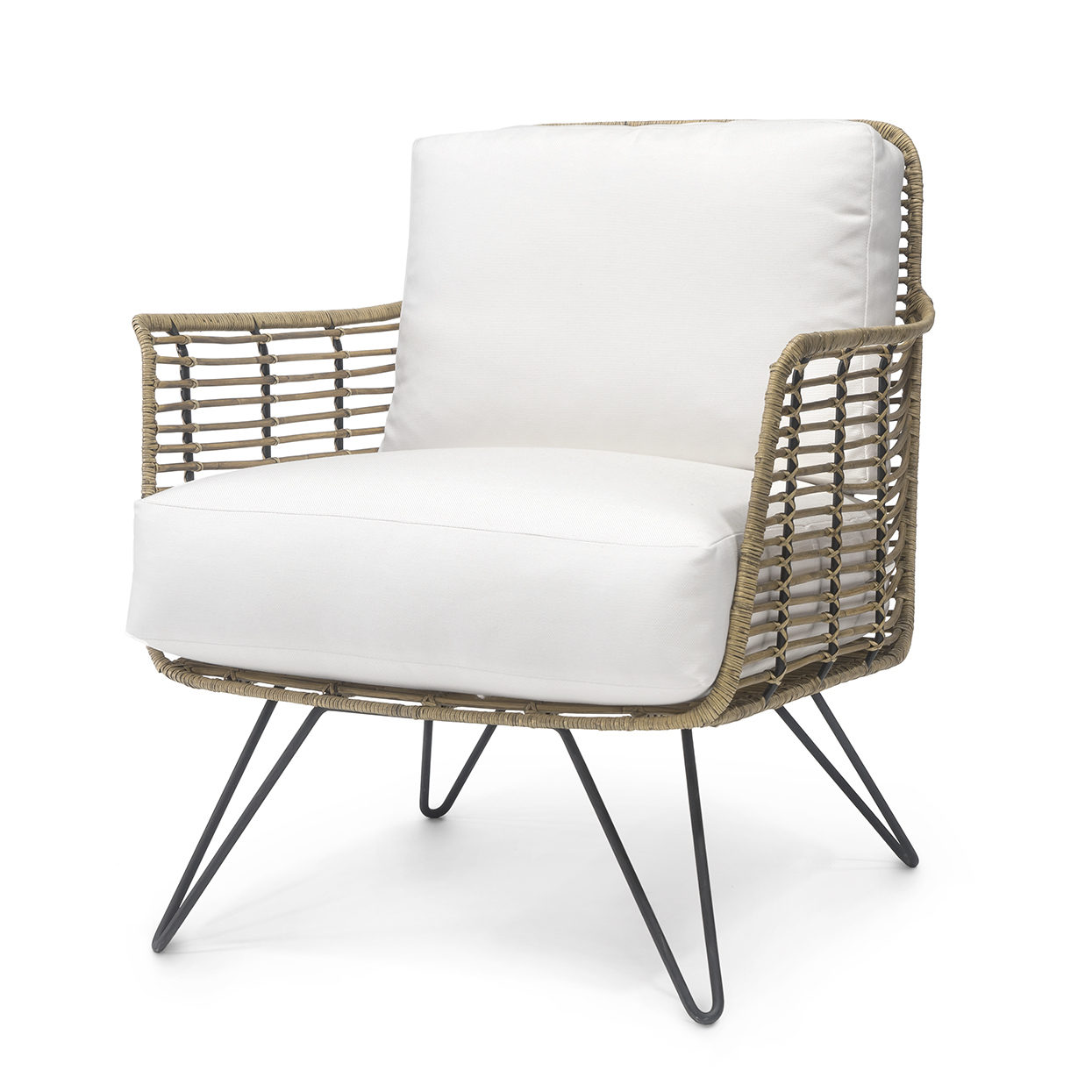 Hermosa Lounge Chair Natural