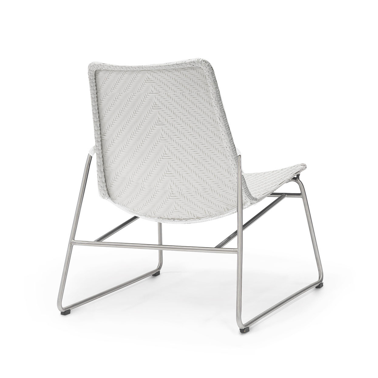 Bergman outdoor occasional chair white 1